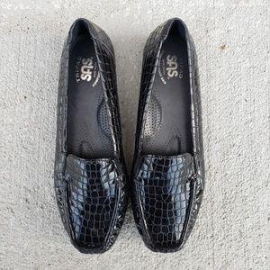 SAS Tripad Simplify Slip On Loafer Black Croc